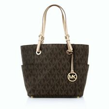 MICHAEL KORS TASCHE BAG Jet Set ITEM TZ TOTE brown/braun