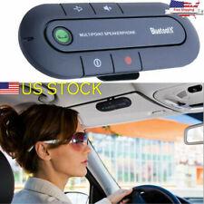 Auto Wireless Bluetooth Hands Free Car Speakerphone Kit Speaker Phone Visor-Clip