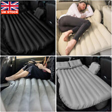 Inflatable Car Air Bed Mattress Back Seat Cushion With 2 Pillows For Traveling