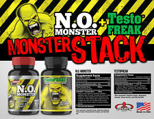 NITRIC OXIDE EXTREME BOOSTER MUSCLE PUMP  N.O. Monster Stack, powerful pumps