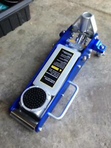 Trolley Jack Aluminum 1.5 Ton Low Profile Alloy Jacks Garage Floor Race New Twin