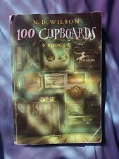 100 Cupboards by N.D. Wilson Ya Young Adult Fiction Paperback Book Childrens