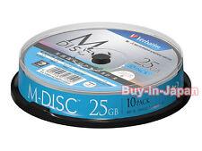 1000 Years Archival Verbatim BluRay M-Disc 25GB BD-R 4x Bluray Inkjet Printable