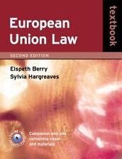 European Union Law Textbook,Elspeth Deards, Sylvia Hargreaves