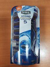 [Schick] Hydro 5 Premium Manual Razor - 1 Razor + 1 Blades + 6 Refill Cartridges