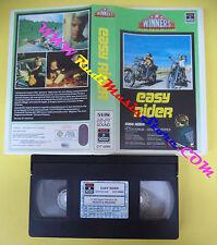 VHS film EASY RIDER 1990 Peter Fonda Dennis Hopper WINNERS COLUMBIA(F101) no dvd