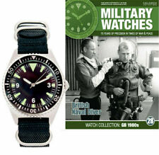 British Naval Diver's Watch 1980s Military Watches Collection & Mag Issue 28