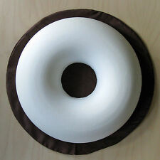 Dunlopillo Surgical Ring Cushion with washable Brown polycotton cover