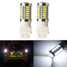 2X 3157 33 SMD Car Led Turn Signal Strobe Lights Brake Tail Lamps Auto Rear Bulb