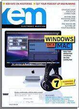 EM Electronic Musician - 2008, July - Windows on a Mac, Mastering Whiz Bob Katz