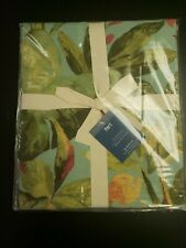 Pier 1 Imports Leaf Pattern Duvet Cover Full/Queen Size