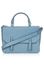BNWT TOPSHOP TURQUOISE BLUE SHOULDER STRAP HAND BAG BRIEFCASE ACROSS BODY MEDIUM