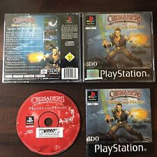 PS1 Crusaders of Might and Magic OVP Sony Playstation #PS1#00229