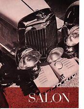 1935 ASTON MARTIN MARK II ~  ORIGINAL 5-PAGE 1961 ARTICLE / AD