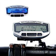 Velocimetro Cable Impermeable Bicicleta Ciclismo Ordenador Odometro Luz +Reverso