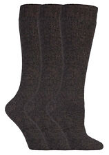 3 Pack Ladies Tall Thick Over the Calf Loose Top Wool Wellington Rain Boot Socks