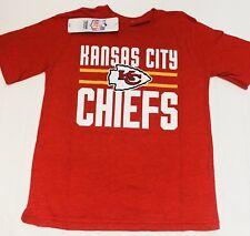 Kansas City Chiefs NFL Team Apparel Youth Boys Tee Shirt | Small ( 6 / 7 )