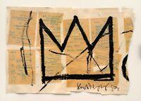 Jean-Michel Basquiat Crown, Print, Poster