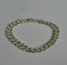 925 sterling silver heavy curb chain bracelet. Ladies or gents. Men or women's.