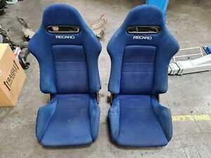 Honds Integra Blue DC5 Recaro seats SR5 JDM