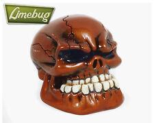 Bronze Gloss Jaw Custom Gearstick Skull Resin Gear Knob Stick Universal VW T1 T2