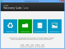 7-Data Recovery Suite Complete data recovery software NTFS FAT FAT32 1 PC