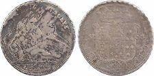 Italie, piastre 120 grana, 1749 Naples, les Deux Siciles, Charles III, RARE -157