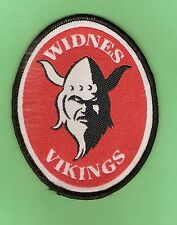 #D504. WIDNES VIKINGS  RUGBY LEAGUE CLOTH PATCH