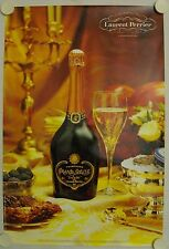 Affiche LAURENT PERRIER Champagne GRAND SIÈCLE