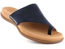 Normale-Weite-(F) Damen-Sandalen & -Badeschuhe im Zehentrenner-Stil ohne Muster für Kleiner Absatz (Kleiner als 3 cm)