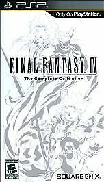 Final Fantasy Iv The Complete Collection Psp GAME NEW