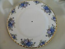 ROYAL ALBERT MOONLIGHT ROSE BLUE SERVING PLATE - NO HANDLE