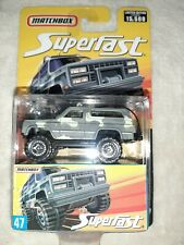 Matchbox Chevrolet Blazer 4x4, Camouflage, #47, Superfast, Limited Edition of...