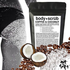 ORGANIC COFFEE & COCONUT SCRUB REDUCES ACNE STRETCH MARKS CELLULITE & DRY SKIN ❤