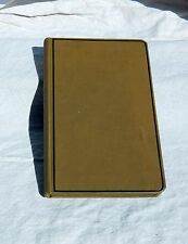 1953- 1954 Personal Diary Ledger Stage Reviews Bowling Records