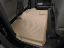 WeatherTech FloorLiner for Ford F-150 SuperCrew - 2009-2014 - 2nd Row - Tan