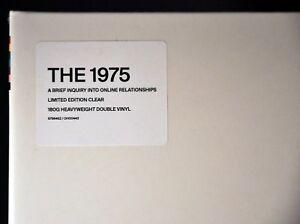 "The 1975 A Brief Orig 2018 GERMAN 12"" Clear VINYL LP Recordx2 NEW DH00443 Import"