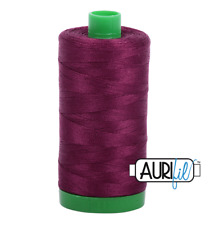 Aurifil Cotton Quilting Thread 40wt - 1000m - 4030 - Plum