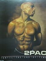 2PAC Tupac Shakur 2001 End Of Time promotional poster Very Good NEW old stock