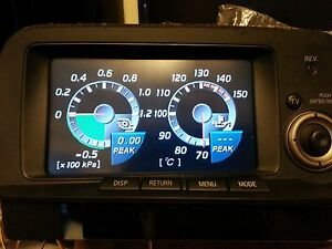 R34 GTR MFD screen LCD replacement multi function display NISSAN SHARP S1 99~20