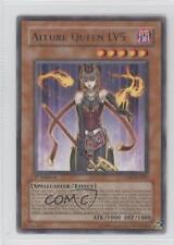 2006 Yu-Gi-Oh! Cyberdark Impact #CDIP-EN007.1 Allure Queen LV5 (Rare) Card 0e3