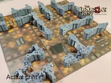 Necromunda sector fatalis 3d printed terrain, boxed game, sci fi - dragons rest