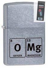 Zippo 29062 omg-element table chrome finish full size Lighter + FLINT PACK