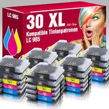 30 Druckerpatronen für Brother DCP-J 140 W LC985