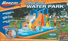 NEW Banzai Gushing Geyser Inflatable Water Park Slide Pool