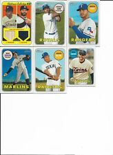 2018 Topps Heritage Clubhouse Collection DUAL RELIC CCDRMA Morgan/Altuve 30/69