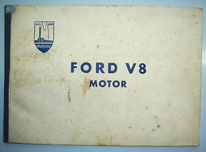 Ford V8 Motor Transart - Representación Alrededor De 1935 ! (H3