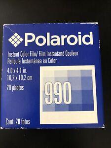 Polaroid 990 Instant Color Film