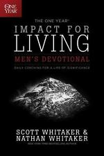 The One Year Impact for Living Men's Devotional: Daily Coaching for a Life of S