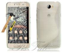 Carcasas Para Huawei Y6 color principal transparente para teléfonos móviles y PDAs